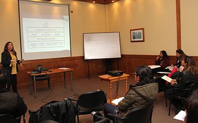 as directoras de todos los establecimientos que administra la Junji en la región de Magallanes y de la Antártica Chilena se reúnen, tradicionalmente, cada fin de año para analizar lo ocurrido durante la temporada y proyectar trabajo.