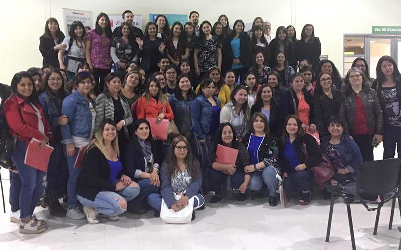 El encuentro se realiza todos los años, desde que fuera implementado en el primer gobierno del Presidente Sebastián Piñera y que actualmente en la región beneficia a 33 jardines infantiles, ubicados en 17 comunas.