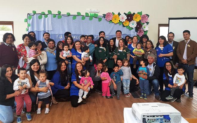 El establecimiento administrado por la Junji Los Ríos, dio a conocer los logros y avances de la gestión pedagógica, en una actividad que convocó a autoridades regionales y comunidad educativa.