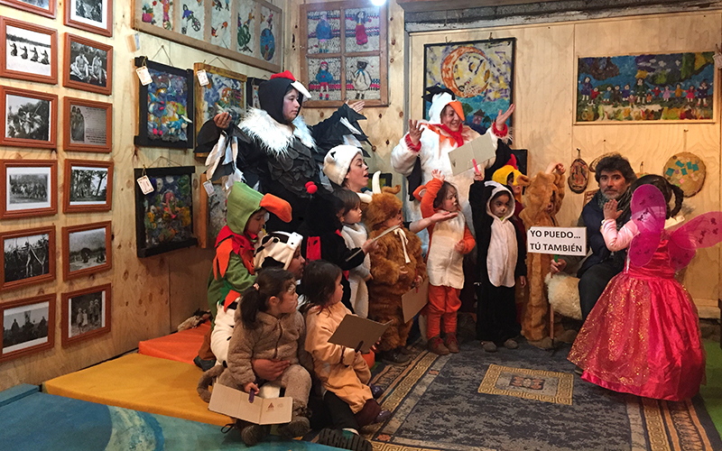 La implementación de proyectos de aula reformadores en los establecimientos de la Junji Aysén, permitió un desarrollo integral de los niños y niñas.