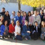 """Una educadora diferencial y dos funcionarias del Jardín Infantil """"Ukika"""" de Puerto Williams viajaron a España por once días para trabajar en pos de la renovación pedagógica."""