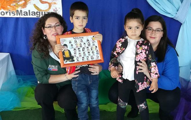 La actividad se llevó a cabo en el establecimiento administrado directamente por la JUNJI Los Ríos y tuvo como protagonistas a 15 niñas y niños que pasan a una nueva etapa educativa.