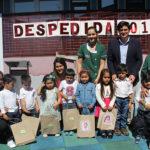 Las niñas y niños homenajeados corresponden a la segunda generación que deja el jardín infantil desde su apertura, para iniciar en marzo una nueva etapa educativa en la Escuela Rural del sector.