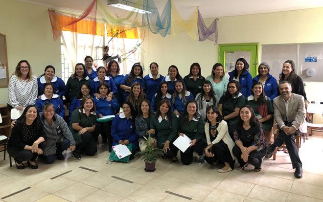 El proyecto se inició con un programa piloto en las regiones de Tarapacá y Magallanes, que en 2017 se replicó en otras 6 regiones del país; y durante el 2018 se llevó a cabo en 29 jardines infantiles, incluyendo 2 de la Región Metropolitana.