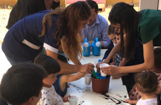 "Seremi del Medio Ambiente visitó jardín infantil con sello educativo naturalista ""Ñuke Mapu"""