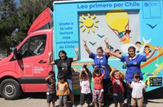 """Con alegría niños y niñas de JUNJI O'Higgins participaron en el lanzamiento de la iniciativa """"Leo primero por Chile"""""""