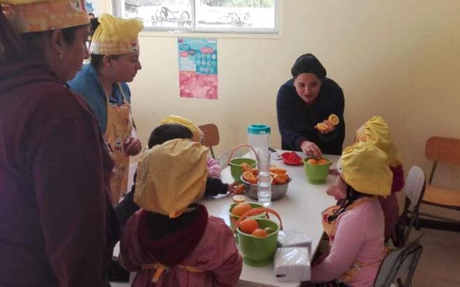 Llevaron platos con preparaciones tradicionales del sector, lo que permitió no sólo destacar la cocina ancestral sino que también poner en valor la producción local.