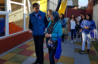 Director Regional entrega llaves del nuevo jardín infantil del sector Recabarren de Temuco
