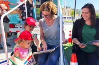 Ministra Marcela Cubillos leyó cuentos junto a niños y niñas de JUNJI Biobío
