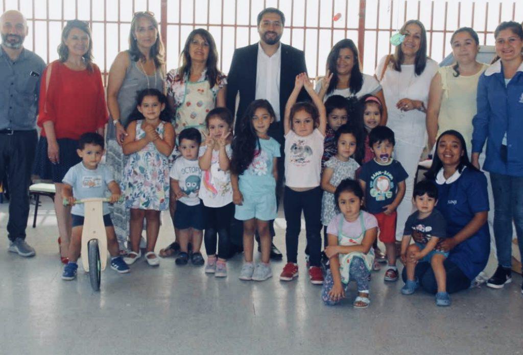 Funcionarios públicos y municipales visitan Jardines Infantiles Estacionales en el Maule