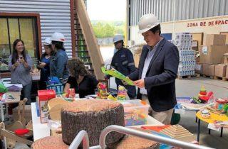 JUNJI Los Ríos evaluó muestras de material didáctico destinado a implementar salas cuna y jardines infantiles de la región
