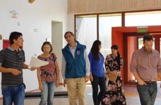 """Director Regional visita la reposición del nuevo Jardín """"Las Abejitas"""""""