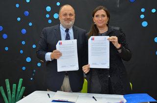 Junji Biobío y Universidad Santo Tomás firman convenio de colaboración