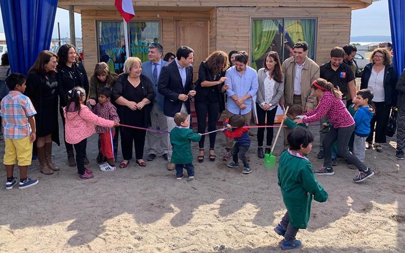 La unidad, gestionada gracias a la colaboración entre dirigentes sociales y la Junji Atacama, será el segundo servicio público que estará presente en la zona de forma permanente, luego de Conaf. Gracias a ello 15 niñas y niños de la caleta serán beneficiados.