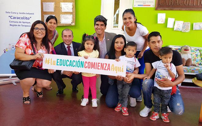La oferta educativa de la institución está desplegada en cada una de las comunas de las provincias de Iquique y del Tamarugal, entregando educación parvularia desde Colchane hasta las caletas costeras.