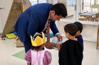 Director Regional del Maule destaca el desarrollo del Programa Jardín Infantil de Verano