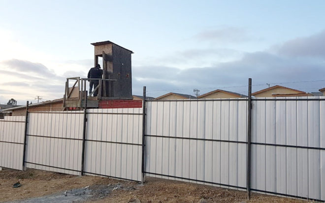 Junto a la Gobernación, Carabineros y vecinos del sector la Junji Valparaíso está tomando las medidas para detener los constantes robos que ha sufrido el proyecto que la empresa abandonó.