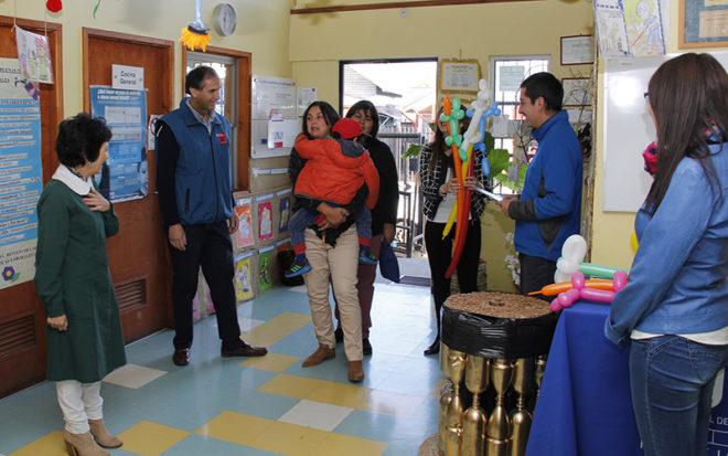 """El 5 de marzo desde las 8:30 horas en el Jardín Infantil """"Las Estrellitas"""" de Temuco y el jueves 7 en la sala cuna """"Pequeños Walles"""" de Padre Las Casas, se realizarán los actos de bienvenida."""
