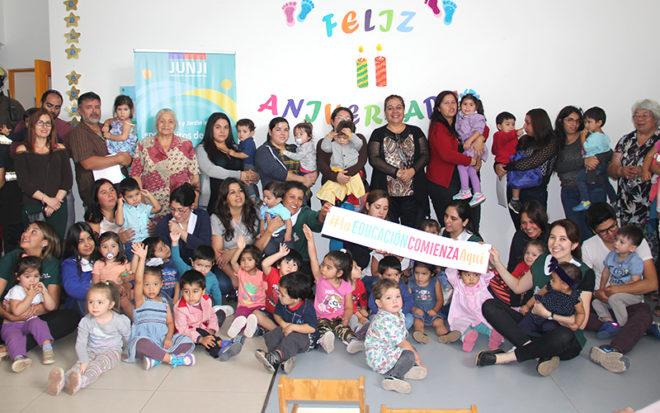 Viviana Abarca, directora del establecimiento destacó el trabajo conjunto que se ha llevado a cabo para dar vida a esta unidad educativa.
