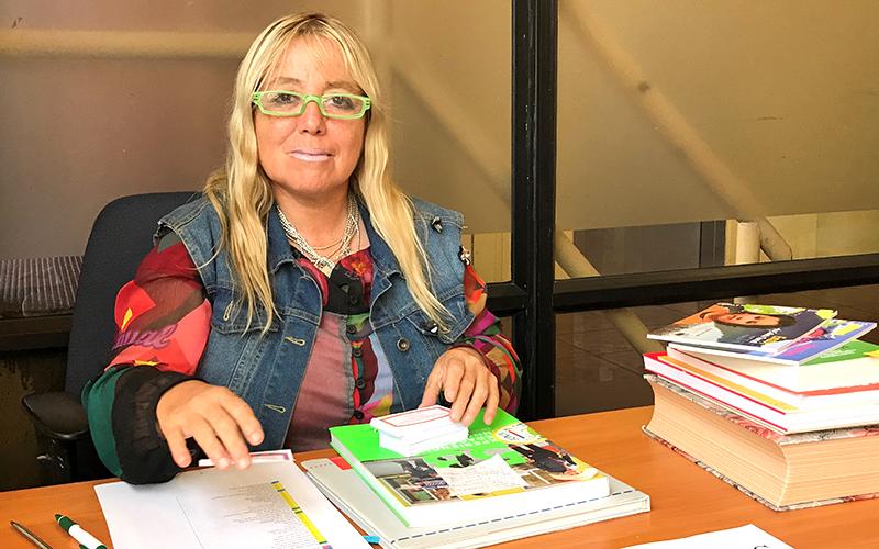 """María Angélica Canales, obtuvo el segundo lugar regional en el concurso """"Historias de nuestra tierra"""" organizado por el Ministerio de Agricultura."""