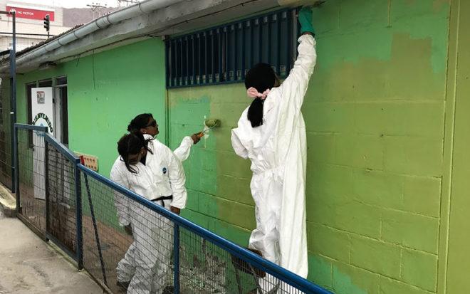 El proyecto considera también la instalación de cámaras de seguridad. Un esfuerzo mancomunado que se gestó desde la Unidad de Estrategia y Control de Gestión de la Junji Antofagasta.
