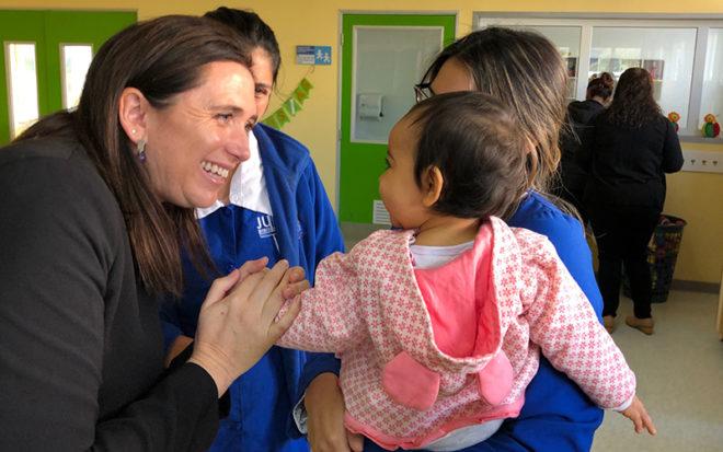 La Junji Biobío dio inicio oficial al año de Educación Parvularia 2019 en sus 382 programas educativos de administración directa y vía transferencia de fondos en la región, para recibir a 18.044 niños entre los 0 y 4 años de edad.
