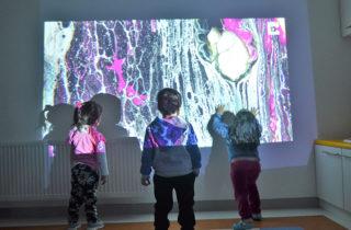 """Párvulos del Jardín """"Campo de Colores"""" disfrutaron de experiencia pedagógica sensorial basada en la filosofía Reggio Emilia"""