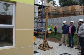 Construyen el jardín más grande de la región en la comuna de Padre Las Casas