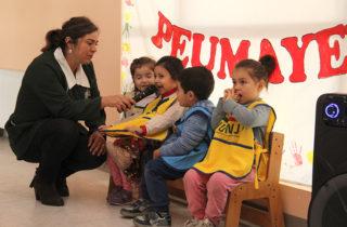 """Jardín """"Peumayén"""" realiza diálogo ciudadano sobre los derechos de los niños"""