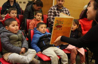 Párvulos de la JUNJI disfrutan de entretenida versión de Libropalooza 2019