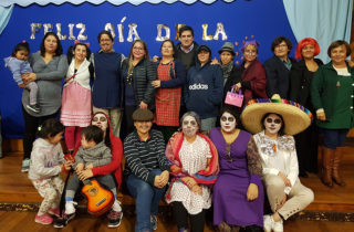 """Jardín """"Carrusel"""" de Valdivia celebró el """"Día de la Familia"""" con exitosa convocatoria"""