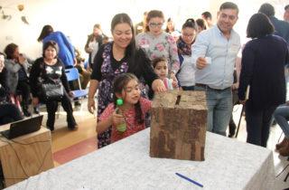 Familias eligen nombre para Jardín de Villa Don Carlos en Arauco