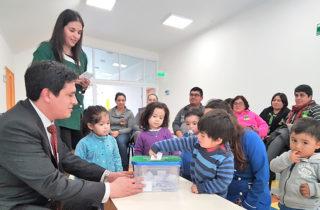 """Vecinos de Carimallín bautizaron jardín del sector como """"Ayelen Mapu"""""""
