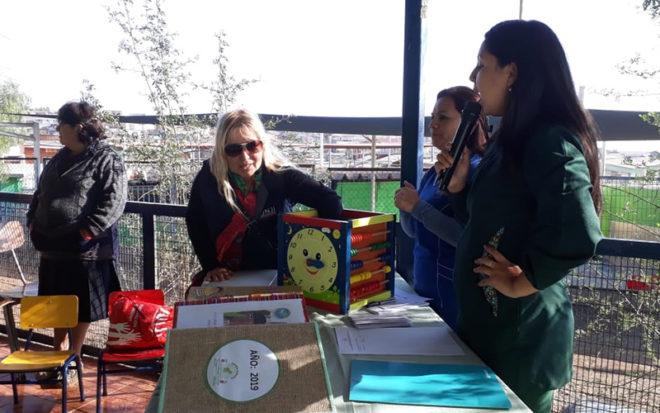 """Denominada El """"Espacio de los Sueños"""" está bajo la responsabilidad de las técnicos en educación parvularia y encargadas del Plan Nacional de Lectura, Claudia Carvajal y Francisca Robles."""