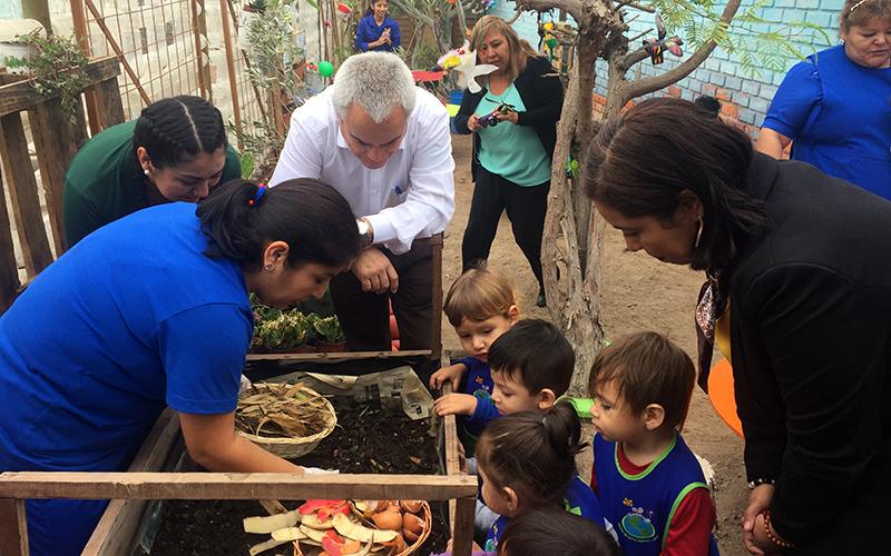 """Educadoras de jardín """"Rabito"""" expondrán en seminario nacional de medioambiente"""