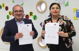 La Junji y la Corporación de Rehabilitación Club de Leones Cruz del Sur actualizan convenio