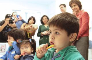 Subsecretaria de Salud Pública encabezó actividad de promoción de la Salud Bucal de niños, niñas y sus familias