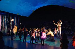 Párvulos disfrutaron de especial obra en Teatro del Biobío