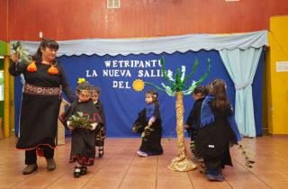"""En Jardín """"Carrusel"""" de Valdivia conmemoraron la Nueva Salida del Sol"""