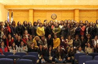 Realizan exitoso Encuentro Regional de directoras y encargadas de jardines en el Biobío