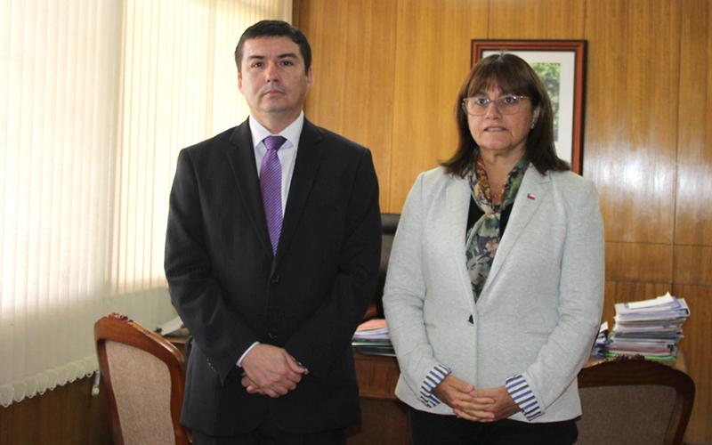 En su primer día de gestión, entregó un saludo protocolar a la intendenta, María Loreto Letelier; a la seremi de Educación, Lorena Ventura, y se reunió con los directorios de las asociaciones Ajunji y Aprojunji.