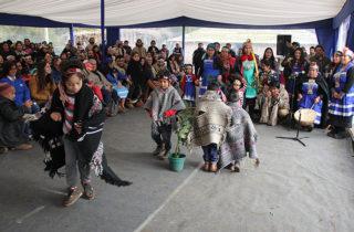 """La Junji Araucanía celebra el """"Regreso de los Rayos del Sol"""" en jardín intercultural de Lautaro"""
