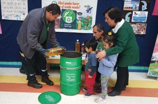 """Jardín """"Copito de Nieve"""" desarrolla proyecto de Reciclaje de Aceite Doméstico"""