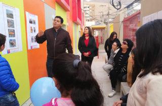 """Comunidad bautizó a nuevo jardín infantil como """"Pasitos del Sur"""""""