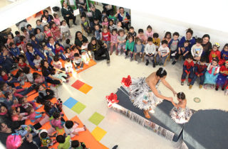 """Con destacada participación de las familias """"Cumbres Patagónicas"""" celebró su primer aniversario"""