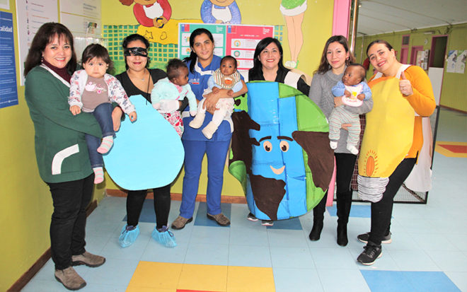 La actividad, del establecimiento de Valdivia, tuvo como propósito fomentar en niñas y niños la conciencia ambiental y el conocimiento ecológico desde sus primeros años de vida.