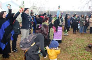 "Jardín ""Katemu"" celebró We Tripantu con tradicional rogativa mapuche"