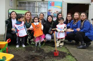 Párvulos del Biobío celebran Día Mundial del Medio Ambiente