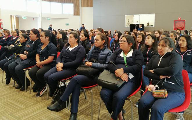 La actividad fue desarrollada en las dependencias de la Universidad Inacap, hasta donde llegaron estudiantes, alumnos en práctica e invitados especiales de las universidades de Tarapacá, Santo Tomás y Arturo Prat, entre otros.