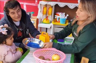 Párvulos potencian sus aprendizajes con nuevos espacios en sala cuna Pan de Azúcar